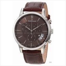 Claude Bernard . 01002 3 BRIN . Classic (M) Chrono Leather Brown