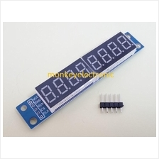 MAX7219 8 digit 7 segment LED display module for Arduino