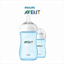 Philips Avent Natural Bottle (260ml/9oz) Special Edition Blue – 2 Bot
