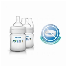 Philips Avent Classic Plus Bottle 4oz/125ml (Twin Pack)