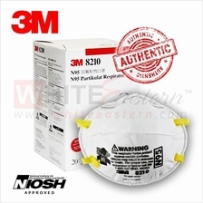 3M 8210 N95 Anti Haze Particulate Respirator Mask, 20 Pieces