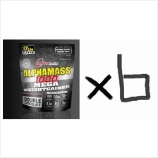 6UNITS Alphabolic AlphaMass Protein 17lbs (Mass Gainer Protein+AMINO