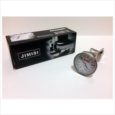 Jimisi Stainless Steel Analog Dial Thermometer With Clip