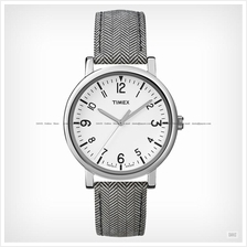 TIMEX T2P212 (M) Premium Originals Classic Easy Reader leather white