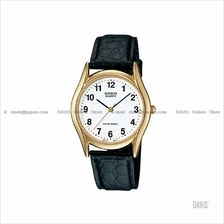 CASIO MTP-1094Q-7B1 STANDARD Analog arabic face leather strap white