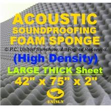 Grade A ACOUSTIC SoundProofing FOAM SPONGE Large Thick Sheet