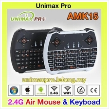 AMK15 - Air Mouse Wireless Keyboard Fly cs918 Tv Box Android m8s V6A