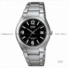 CASIO MTP-1265D-1AV STANDARD Analog date 10 yrs SS bracelet black