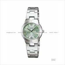 CASIO LTP-1241D-3A STANDARD Analog date display SS bracelet green