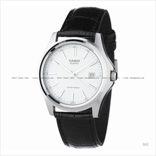 CASIO MTP-1183E-7A STANDARD His & Her date leather strap white *Match*