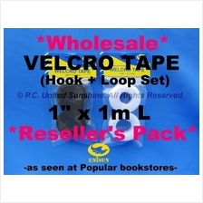 GRADE AA VELCRO TAPE NON-Adhesive x 60 Packs *Wholesale Reseller*