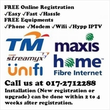 Unifi, Streamyx New Registration & Upgrade Services (Free of Charge)
