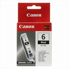Canon BCI-6 BK Black Ink (Genuine) BCI6BK i905D 965 i9100 iP4000
