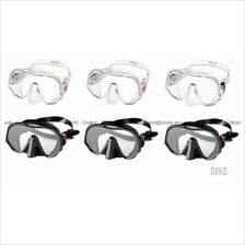 ATOMIC AQUATICS - Frameless - Dive Masks - Wide Vision - UltraClear