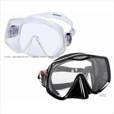 ATOMIC AQUATICS - Frameless 2 - Dive Masks - Comfortable - UltraClear