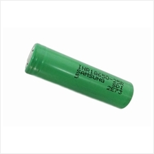 Samsung INR18650-25R 18650 2500mAh 3.6v Rechargeable Flat Top Battery