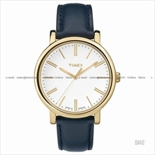 TIMEX TW2P63400 (W) Originals Classic Round leather strap blue
