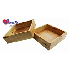PINE WOOD WEDDING TRAY / KOTAK KAYU DULANG HANTARAN