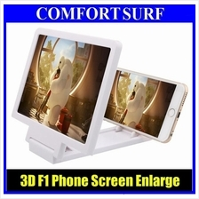 F1 HD Fordable Screen Magnifier Enlarge Screen Phone Holder Bracket