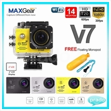 MAXGear NEW V7 WiFi 1080P Full HD 14MP Action Camera NOVATEK 96655