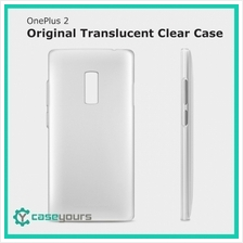 Official OnePlus 2 X Translucent Clear Case Cover One Plus Two Casing