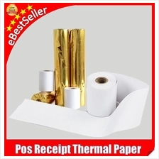 Quality 100 Rolls POS Cash Register Thermal Receipt Paper 57mm / 80mm