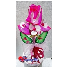 Q-DIP BUNGA TELUR / HAND MADE Q-DIP WEDDING FLOWER 1