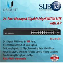 ES-24-Lite Ubiquiti EdgeSwitch Lite 24 port SFP L3 Smart AF AT Switch