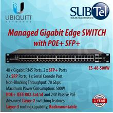 ES-48-500W Ubiquiti Edge Switch POE 48 port SFP+ UBNT 802.3at 802.3af