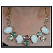 Fashion Korean Mixed Round Shape With Multiple Color Design Necklace