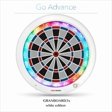 GRANBOARD 2 - GLOBAL ONLINE DARTBOARD (LIMITED WHITE) - GRAN BOARD 2