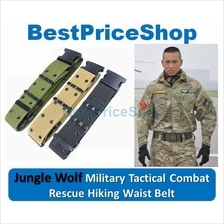 2017 Jungle Wolf Adjustable Military Tactical Rescue Waist Belt Rigger