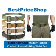 Heavy Duty Black Hawk CQB Military Combat Tactical Rescue Rigger Belt