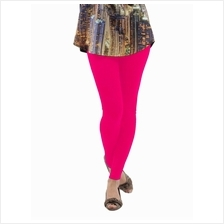 Fashion Quality Leggings Sheer Dark Pink