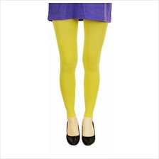 Fashion Quality Leggings Sheer Yellow