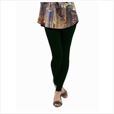 Fashion Quality Leggings Sheer Dark Green