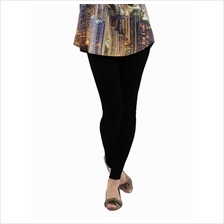 Fashion Quality Leggings Sheer Black