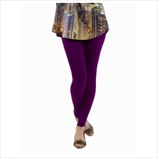 Fashion Quality Leggings Sheer Dark Purple