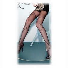 Fashion Pantyhose Style Broad Fishnet-Like Design 10D