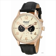 INGERSOLL IN1309RCR Automatic Golden Age Calendar M-Cream Leather LE