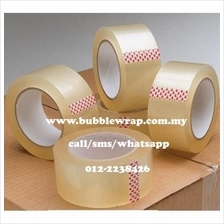 Transparent OPP TAPE 48mm x 100m x 6 rolls *Free Shipping Semenanjung