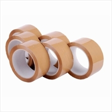 OPP Brown Tape 48mm x 100m 6pcs in roll *Free Ship Semenanjung