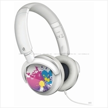 Philips SHL8807 Headband Headphones . Exchangeable Cover . iPod Contro
