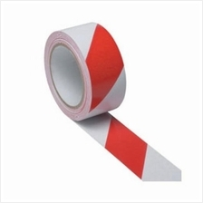 Floor Tape 48mm x 30m For Safety and Hazard Warning Tape Red/White