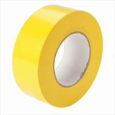 Floor Tape 48mm x 30m For Safety and Hazard Warning Tape Yellow