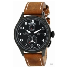 INGERSOLL IN3107BBKW Auto Cobham II Power Reserve M-Black Leather LE
