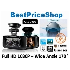 HD1080P Taiwan Ori Novatek Chipset GS8000L Car DVR Camera Night Vision