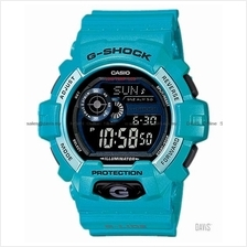 CASIO GLS-8900-2 G-SHOCK G-LIDE low temperature resin strap blue