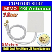 18dBi 4G 3G LTE Mimo Dual-polarized Plate Panel Directional Antenna