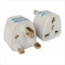 3-Pin UK Traveler Plug Power Adapter Converter